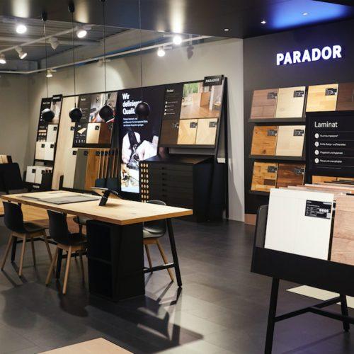Parador Interaktiver Tisch für den digitalen POS