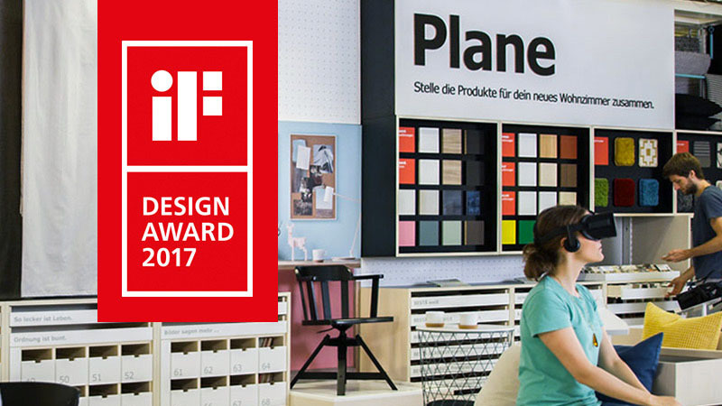 if design award 2017 f r unseren ikea virtual reality showroom. Black Bedroom Furniture Sets. Home Design Ideas