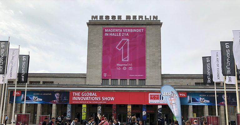 IFA Berlin 2018 - Demodern meets Telekom MagentaEINS & 5G