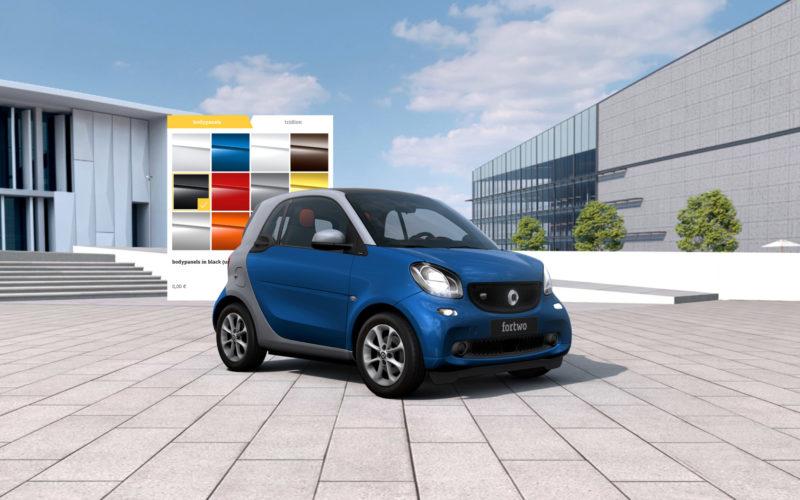 smart Highend 3D Auto-Konfigurator