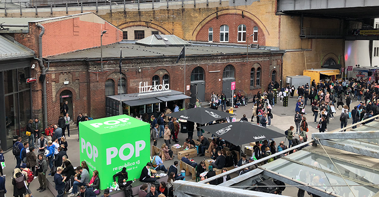 It's all about POP: Das war die re:publica 2018