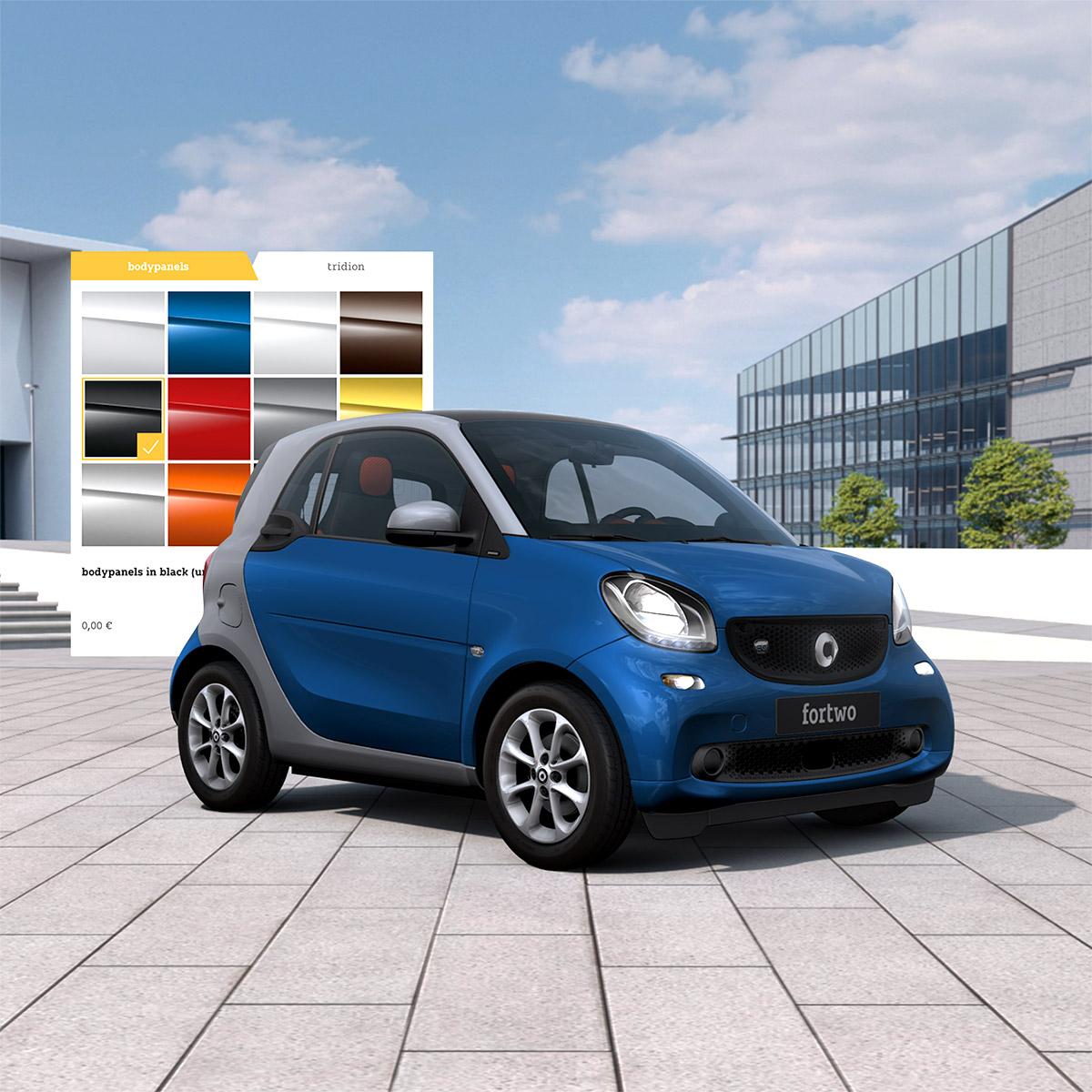 smart Highend 3D Car Configurator in WebGL