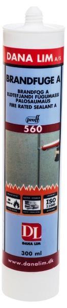 Brandfuge A 560