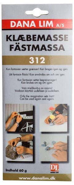 Häftmassa 312