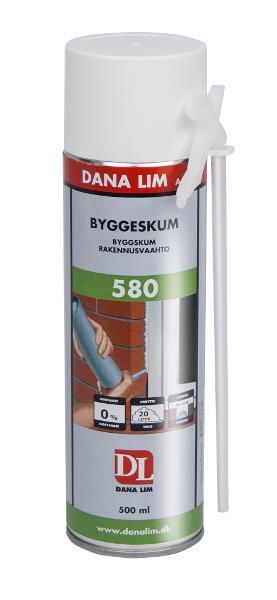 Byggeskum 580