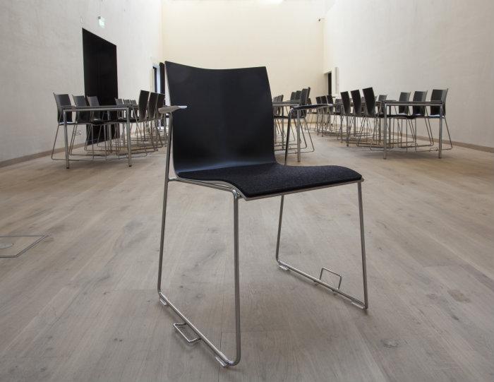 Moderne Fraster A/S: Filt sæder til designer stole SA21