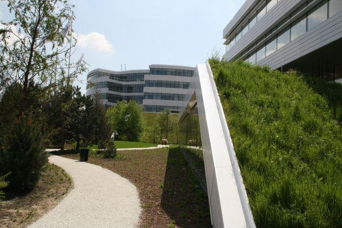 Byggros har leveret ca. 5500 m2 Urban Green-biotoper til Novo Nordisk Domicilet