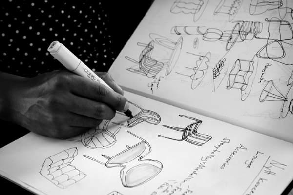 Lammhults Unge designtalenter tegner fremtidens mobler