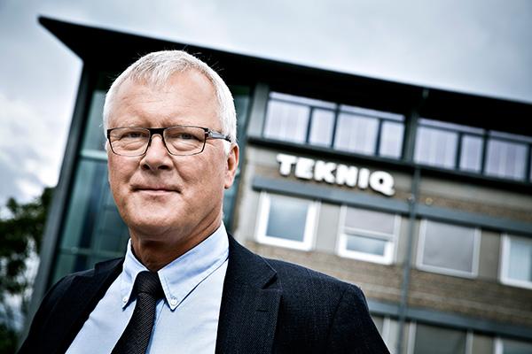 Administrerende direktør i TEKNIQ Niels Jørgen Hansen