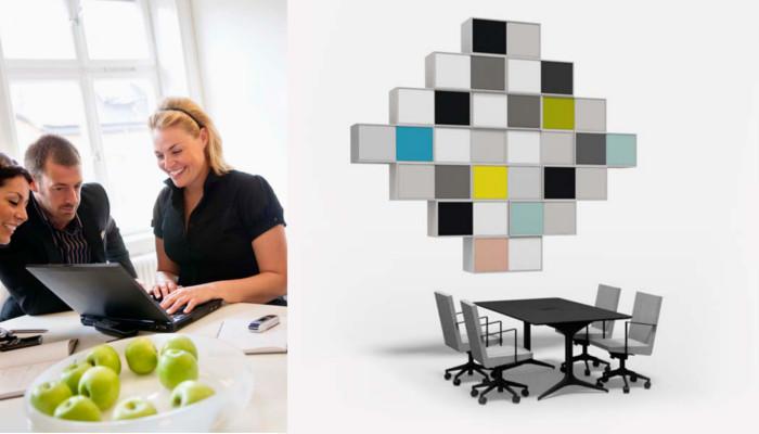 Ny service giver billigere og mere miljøvenlig indretning af kontorer