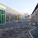 UNIQA, legepladser, møbler, Kongehøjskolen i Aabenraa.