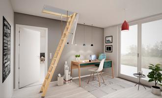 Dolle: Opfyld energikrav med rigtig lofttrappe