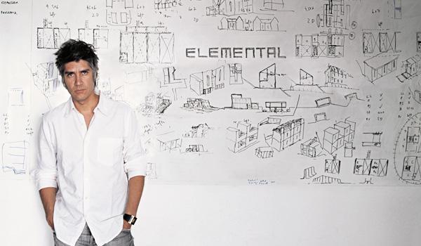 den chilenske arkitekt, Alejandro Aravena