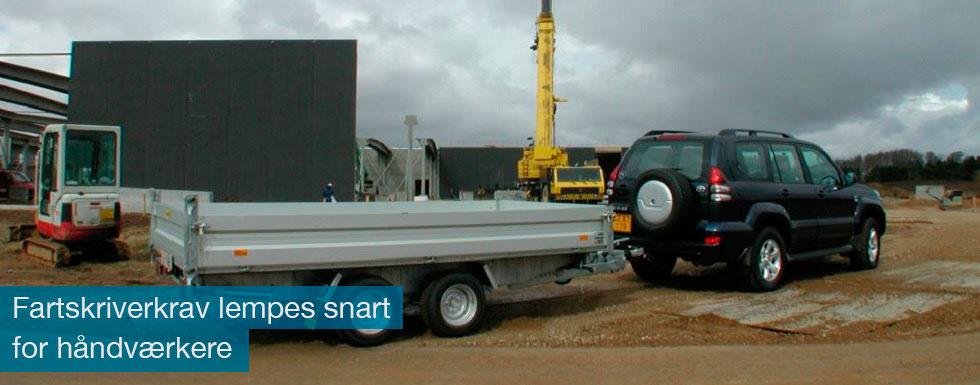 Nu kan nogle håndværkere snart slippe for de omdiskuterede fartskrivere i varebilen