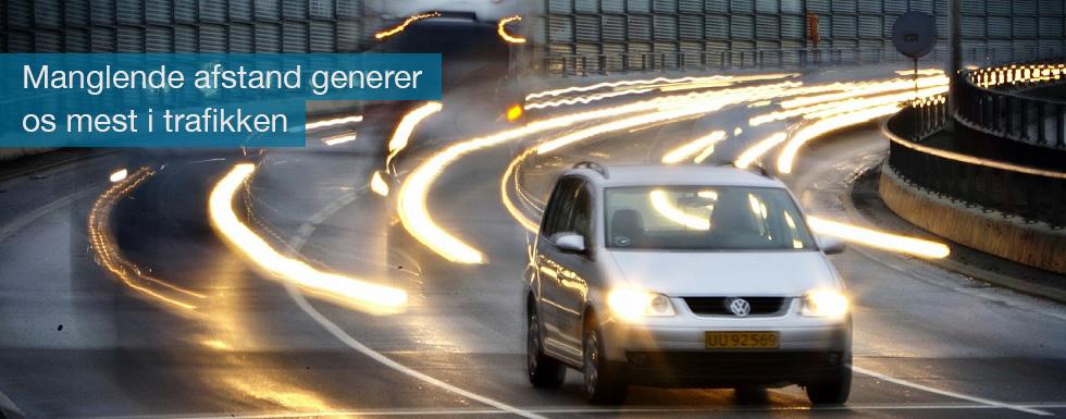 manglende afstand er topscorer blandt irritationsmomenterne i trafikken