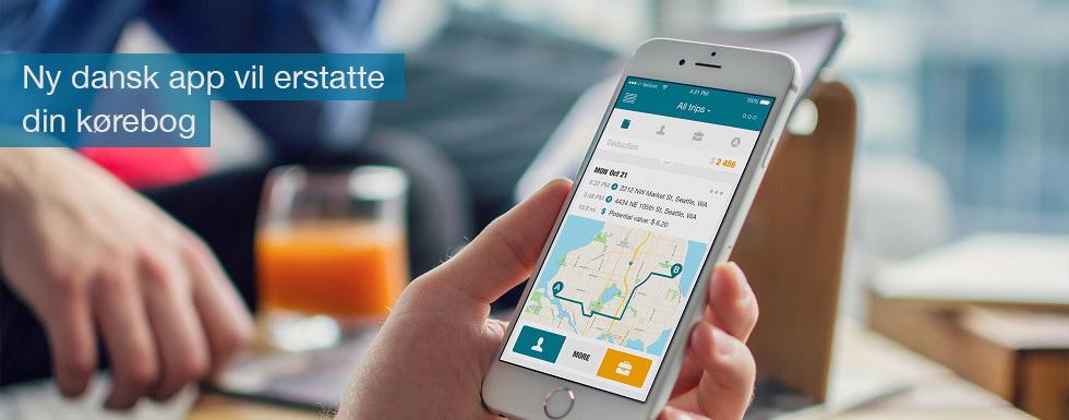 Ny app udviklet af dansker skal erstatte den fysiske kørebog og gøre det lettere fx at køre på tværs af landegrænser i firmabilen