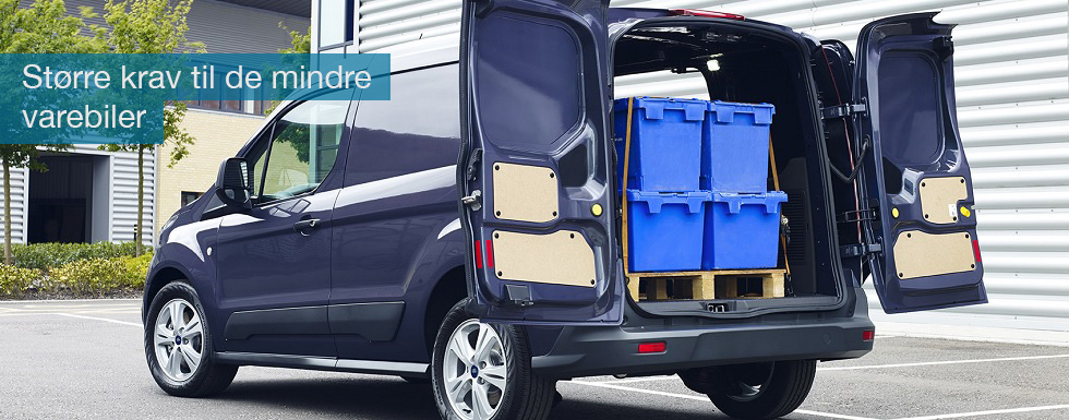 Ny lov betyder, at der stiller større krav til godskørsel for fremmed regning i varebiler under 3500 kg