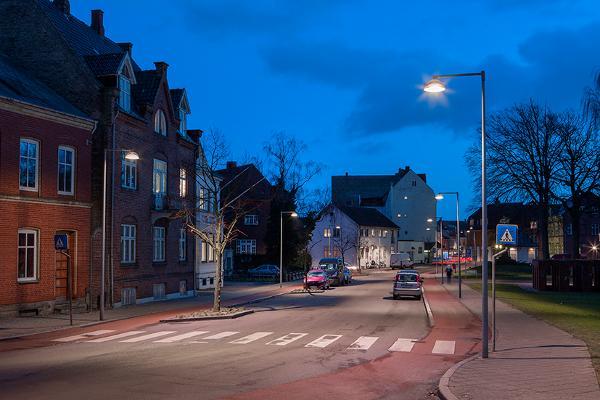 Intelligente LED-gadelamper