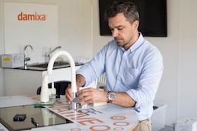 Damixa: Ny vandhane: Knivskarpt krom i hyggeligt design