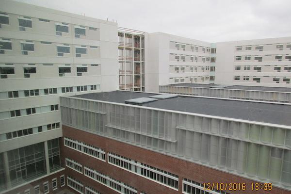 I top på sidste DNU-bygning