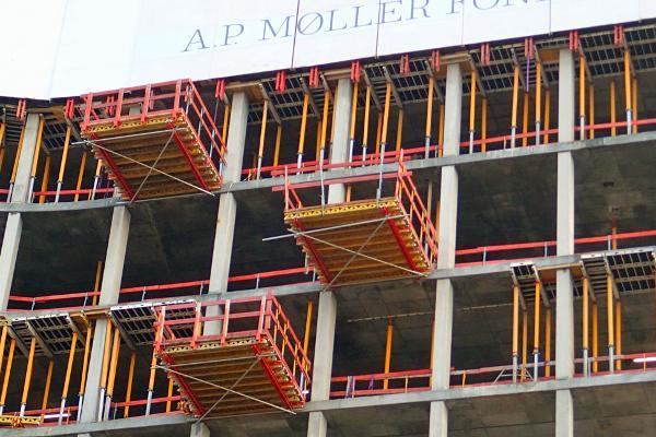 Special designet forskallingsprojekt der opfylder høje arkitektoniske krav
