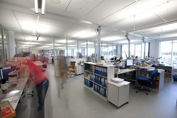 Ecophons akustikplader leverer diffus ventilation