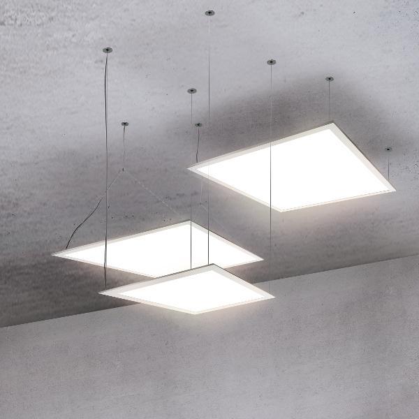 Fladt STELLA LED-loftarmatur fra ESYLUX