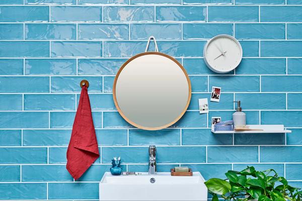 Trenden med funktionalitet træder ind på badeværelset