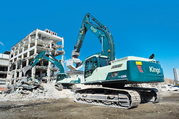 Kingo tilbyder effektiv nedbrydning af bygninger og anlæg i hele landet