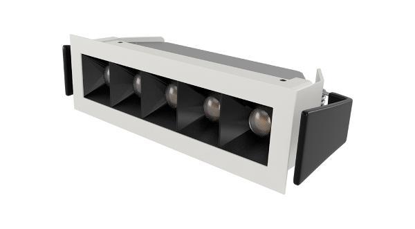 LED nyhed fra Normasym: NS17 - Aflangt LED spot med unikt linsesystem