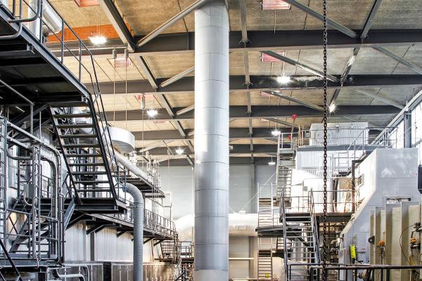 Svendborg Kraftvarme A/S: massiv energibesparelse med ny LED belysningsløsning
