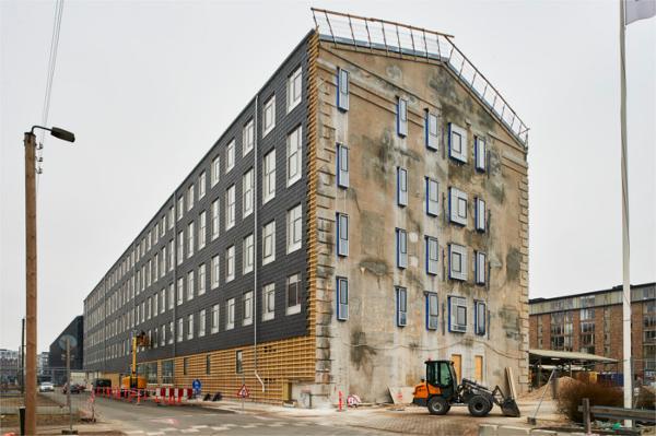 Industriel renovering i Sydhavnen