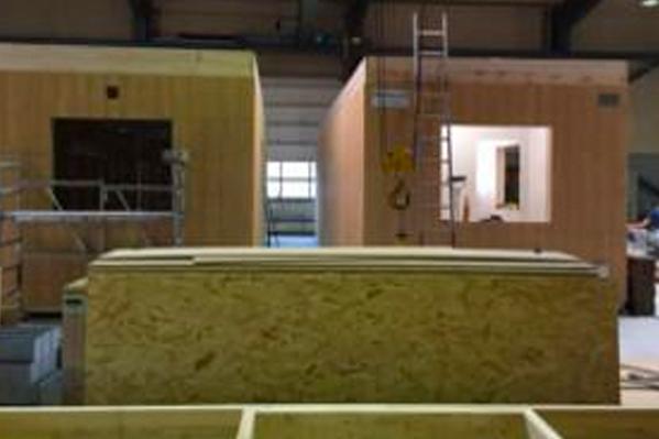 Mobilhouse A/S løser akut boligbehov i Flensburg