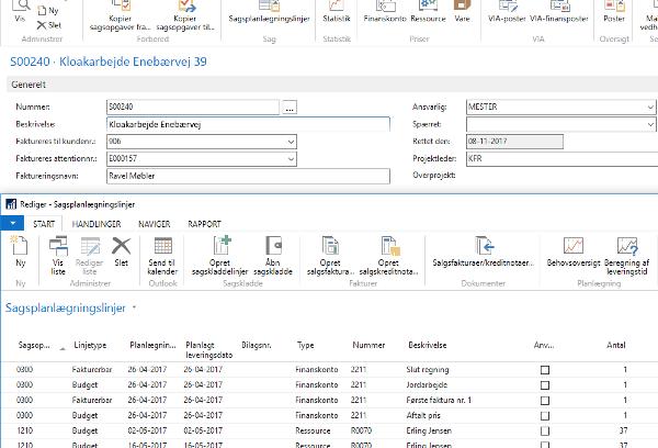 Et enkelt klik, så ligger sagen klar i Microsoft Outlook – planlægning ✓