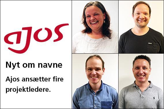 Ajos ansætter fire nye projektledere