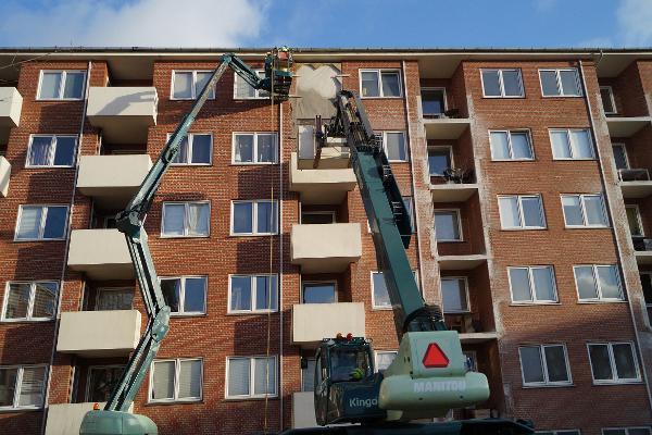 Kingo skaber plads til energioptimering af Moldeparken i Vejle
