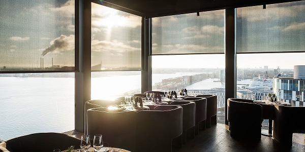 Nyd udsigten med interiørscreens: Restaurant Silo