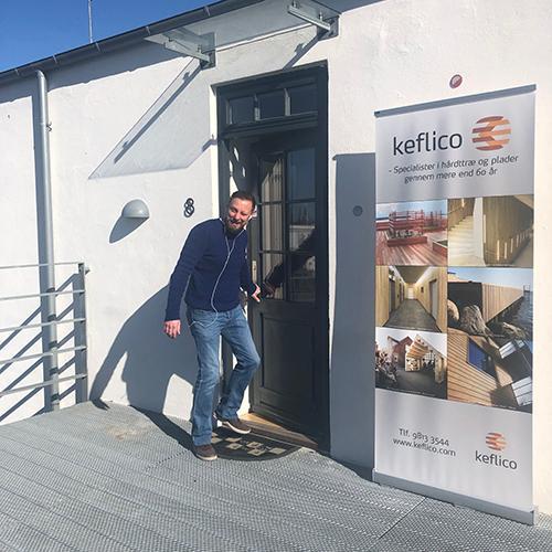 Velkommen på vores nye kontor: Keflico Køge