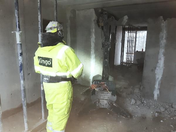 Kingo har fokus på gammelt støv i forbindelse med miljøsanering