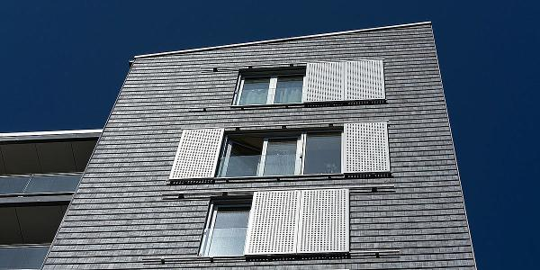 Skodder er med til at forme facadeudtrykket