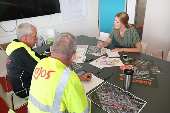 Ajos løfter sikkerheden til nyt niveau under åbent hus på Nyt Hospital Hvidovre
