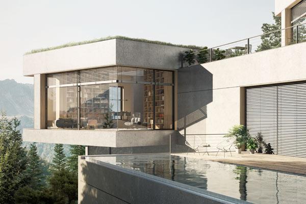 Jyllands Markisefabrik lancerer unik solafskærmning til hjørnevinduer