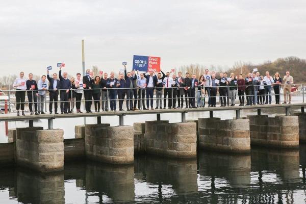 GROHE opnår certificering som en af danmarks bedste arbejdspladser