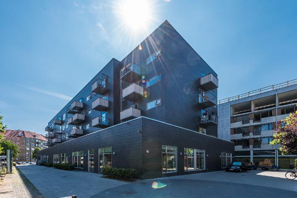 Naturskifer blev valgt til Plejecenter Hørgården i København
