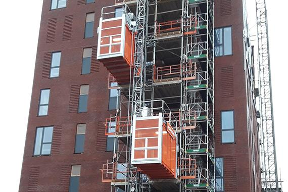 Dobbelthejs øger effektiviteten på byggepladsen