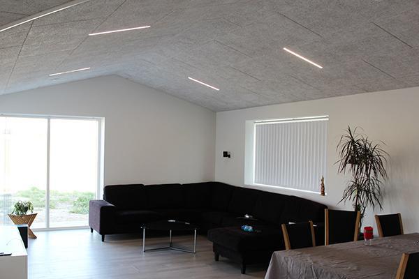 Sådan skabte Vestergaard Huse A/S en rød tråd og et unikt look med belysning