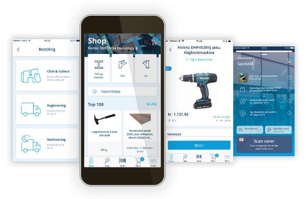 Ny app optimerer indkøbsoplevelsen for den enkelte bruger