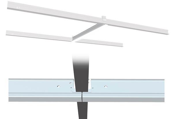 T-skinne LED