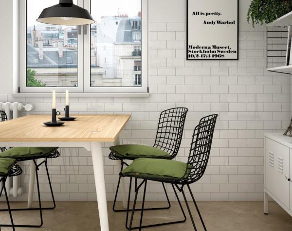 Colour Ceramica: De mest brugte vægfliser i Danmark har én farve: Hvid !