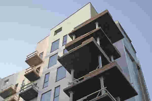 Store, men lette betonløsninger